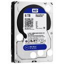 【送料無料】WESTERN デスクトップ用3.5インチ型ハードディスクドライブ(6TB) WD Blue WD60EZRZ-RT [WD60EZRZRTC]【SPOA】