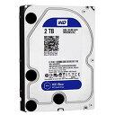 【送料無料】WESTERN デスクトップ用3.5インチ型ハードディスクドライブ(2TB) WD Blue WD20EZRZ-RT [WD20EZRZRTC]【NYOA】