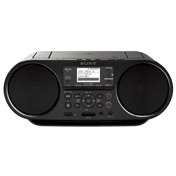 【送料無料】SONY CDラジオ ブラック ZS-RS80BT [ZSRS80BT]【KK9N0D18P】【KAN10】