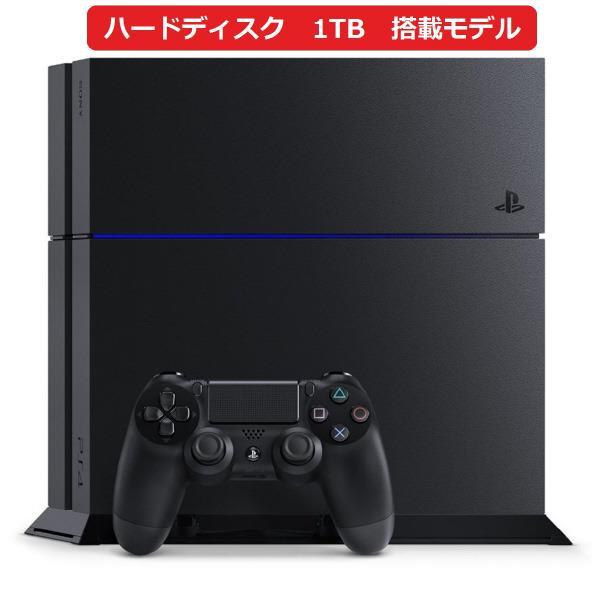 【送料無料】SCE PlayStation 4 ジェット・ブラック 1TB CUH1200BB01 [CUH1200BB01]