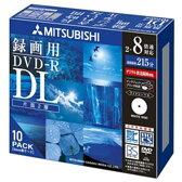 三菱化学メディア 録画用DVD-R 215分 片面2層 2-8倍速 CPRM対応 10枚入り VHR21HDSP10 [VHR21HDSP10]【KK9N0D18P】【10P03Dec16】