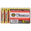 オーム電機 単4形Vアルカリ乾電池 8本パック LR03/S8P/V [LR03S8PV]