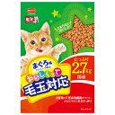 日本ペットフード ミオおいしくって毛玉対応 まぐろ味 2.7...