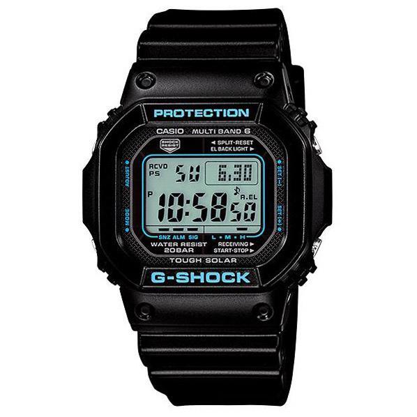 【送料無料】カシオ ソーラー電波腕時計 G-SHOCK GW-M5610BA-1JF [GWM5610BA1JF] G-SHOCKからブランドカラーであるブラックをベースに、人気のブルーをアクセントカラーとして組み合わせた「ブラック×ブルーシリーズ」が登場。
