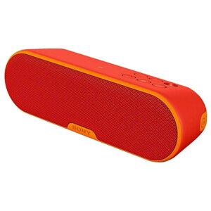 【送料無料】SONY ワイヤレスポータブルスピーカー オレンジレッド SRS-XB2 R [SRSXB2R]【OCP】