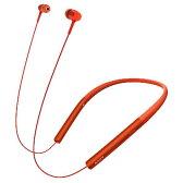 【送料無料】SONY ワイヤレスステレオヘッドセット h.ear in Wireless シナバーレッド MDR-EX750BT R [MDREX750BTR]【1201_flash】【10P03Dec16】