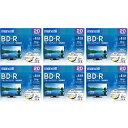 【送料無料】マクセル 録画用25GB 1-4倍速対応 BD-R追記型 ブルーレイディスク 20枚入り 6個セット BRV25WPE20SP6 [BRV25WPE20SP6]【120...