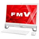 【送料無料】富士通 一体型デスクトップパソコン Kual ESPRIMO スノーホワイト FMVF53YWG [FMVF53YWG]【1021_flash】