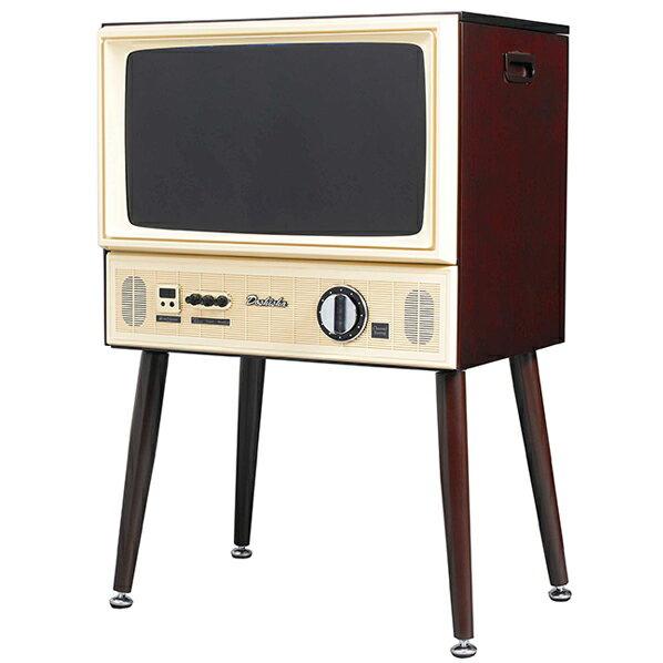 ドウシシャ 20V型ハイビジョン液晶テレビ ヴィンテージシリーズ ダークブラウン VT203-BR [VT203BR]【RNH】【FEBMP】