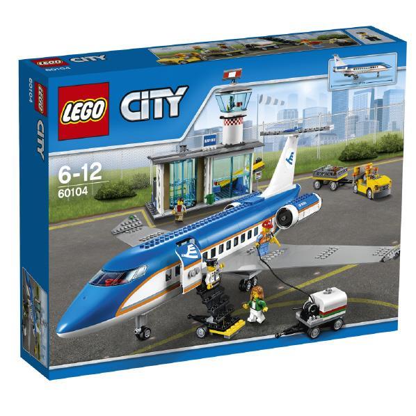 【送料無料】レゴジャパン LEGO シティ 60104 空港ターミナルと旅客機 60104クウコウタ-ミナルトリヨカツキ [60104クウコウタ-ミナルトリヨカツキ]【1201_flash】