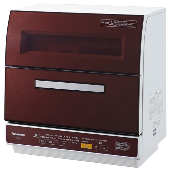 【送料無料】パナソニック 食器洗い乾燥機 ブラウン NP-TR9-T [NPTR9T]