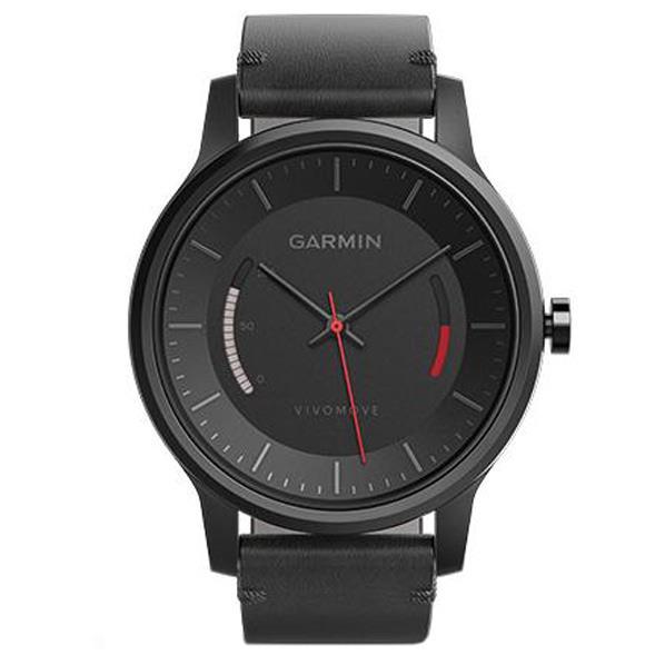 【送料無料】GARMIN スマートアナログウォッチ vivomove Classic ブラック 159740 [159740]