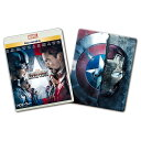 【送料無料】ウォルト・ディズニー・スタジオ・ジャパン シビル・ウォー/キャプテン・アメリカ MovieNEXプラス3Dスチールブック 【Blu-ray/DVD】 VWAS-6301 [VWAS6301]