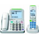 【送料無料】シャープ デジタルコードレス電話機(子機1台タイプ) ホワイト系 JDAT85CL