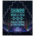 【送料無料】ユニバーサルミュージック SHINee WORLD 2016〜D×D×D〜 Special Edition in TOKYO DOME 【Blu-ray】 UPXH-20047 [UPXH20047]