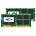 【送料無料】CFD DDR3L-1600対応 ノートPC用メモリ 204pin SO-DIMM(8GB×2枚組) CFD Selection Crucial by Micron W3N1600CM-8G [W3N1600CM8G]【NYOA】