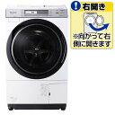 【送料無料】パナソニック 【右開き】10.0kgドラム式洗濯乾燥機 クリスタルホワイト NA-VX7700R-W [NAVX7700RW]【RNH】