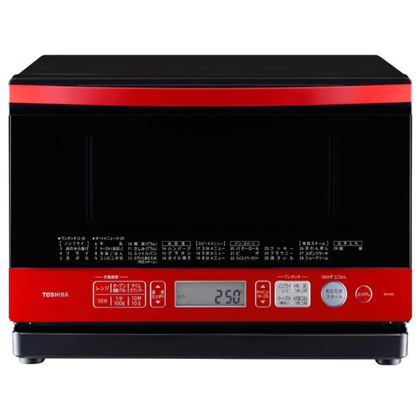 【送料無料】東芝 スチームオーブンレンジ オリジナル 石窯オーブン グランレッド ER-P6E(R) [ERP6ER]