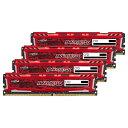 【送料無料】CFD Crucial ゲーミングモデル DDR4-2400 デスクトップPC用メモリ 288pin DIMM Heatsink搭載(16GB×4枚組) CFD Selection B..