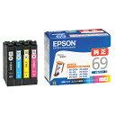 エプソン インクカートリッジ 4色パック IC4CL69 [IC4CL69]【OASP】