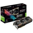 【送料無料】ASUSTEK NVIDIA GeForce GTX1070チップ搭載 GDDR5 8GB グラフィックカード ROG STRIXシリーズ STRIX-GTX1070-O8G-GAMING [STRIXGTX1070O8GGAMING]