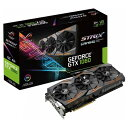 【送料無料】ASUSTEK NVIDIA GeForce GTX1060チップ搭載 GDDR5 6GB グラフィックカード ROG STRIXシリーズ STRIX-GTX1060-O6G-GAMING [STRIXGTX1060O6GGAMING]