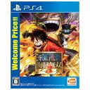 バンダイナムコエンターテインメント ワンピース 海賊無双3 Welcome Price!!【PS4】 PLJM80220 [PLJM80220]