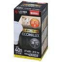 RoomClip商品情報 - アイリスオーヤマ LED電球 E26口金 全光束485lm(5.1W一般電球タイプ) 電球色相当 1個入り ECOHiLUX LDR5L-H-S6 [LDR5LHS6]