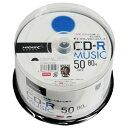 磁気研究所 音楽用CD-R 700MB 1-48倍速対応 インクジェットプリンタ対応 50枚入り TYシリーズ TYCR80YMP50SP [TYCR80YMP50SP]【FOFP】【FOP】