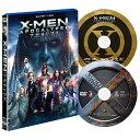 20世紀フォックス X-MEN:アポカリプス 2枚組ブルーレイ&DVD〔初回生産限定〕 【Blu-ray/DVD】 FXXF-64747 [FXXF64747]