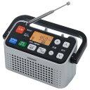 【送料無料】ツインバード 手元スピーカー機能付3バンドラジオ シルバー AV-J127S [AVJ127S]【RNH】