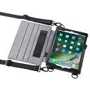 【送料無料】サンワサプライ スタンド機能付きショルダーベルトケース(iPad Pro9.7 / iPad Air2兼用) PDA-IPAD912 [PDAIPAD912]