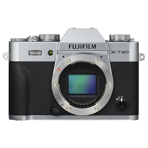 【送料無料】富士フイルム デジタル一眼カメラ・ボディ Xシリーズ シルバー FX-T20-S [FXT20S]【RNH】