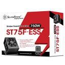 【送料無料】SilverStone シルバー電源(750W) Strider Essential ブラック SST-ST75F-ESS [SSTST75FESS]