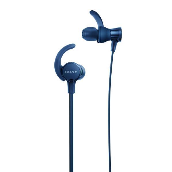 SONY 密閉型インナーイヤーヘッドフォン ブルー MDR-XB510AS L [MDRXB510ASL]【RNH】