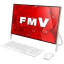 【送料無料】富士通 一体型デスクトップパソコン KuaL ESPRIMO スノーホワイト×ベージュゴールド FMVF77B1KG [FMVF77B1KG]【RNH】
