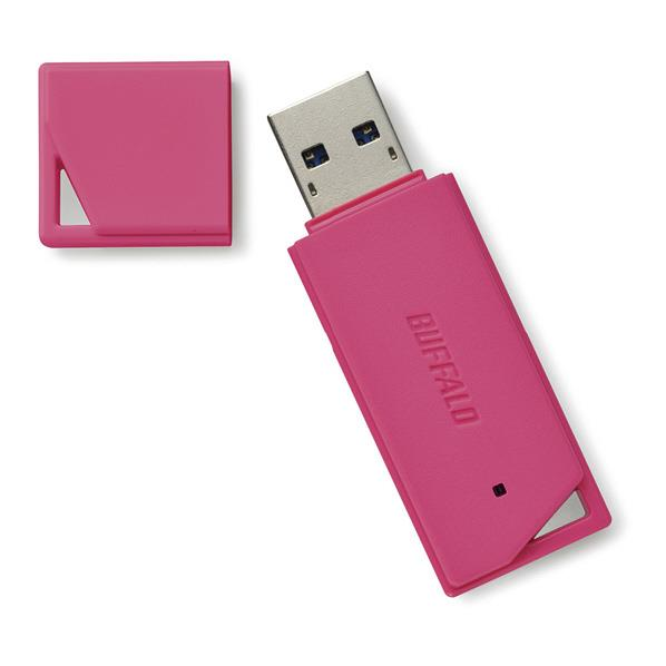 BUFFALO USB3.1(Gen1)/USB3.0対応 USBメモリー バリューモデル(8GB) ピンク RUF3-K8GB-PK [RUF3K8GBPK]【KK9N0D18P】