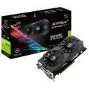 【送料無料】ASUSTEK グラフィックカード NIVIDIA GeForce GTX1050Ti チップセット搭載 GDDR5 4GB ROG STRIXシリーズ STRIXGTX1050TIO4GGAMING [STRIXGTX1050TIO4GGAMING]