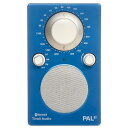 Tivoli Audio Bluetoothワイヤレス AM/FMラジオスピーカー PAL BT ブルー/ホワイト PALBT-1772-JP [PALBT1772JP]【SPMS】