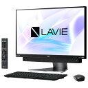 【送料無料】NEC 一体型デスクトップパソコン LAVIE Desk All-in-one ダークシルバー PC-DA770KAB PCDA770KAB 【RNH】