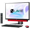 【送料無料】NEC 一体型デスクトップパソコン KuaL メタルレッド PC-DA770KAR-E3 PCDA770KARE3 【RNH】