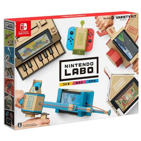 【送料無料】任天堂 Nintendo Labo Toy-Con 01: Variety Kit HACRADFUA [HACRADFUA]