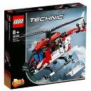 レゴジャパン LEGO テクニック 42092 救助ヘリコプ...