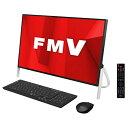 富士通 一体型デスクトップパソコン ESPRIMO ブラック FMVF77D1B FMVF77D1B 【RNH】