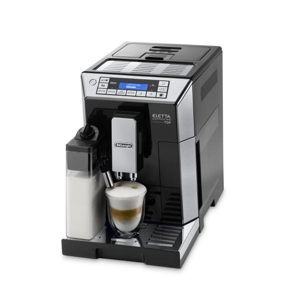 デロンギ エレッタ カプチーノ トップ全自動コーヒーマシン【ECAM45760B】