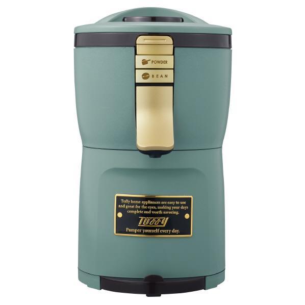 toffy(トーフィー) 全自動ミル付アロマコーヒーメーカー K-CM7