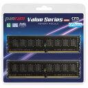 CFD DDR4-3200 デスクトップ用メモリ 288pin DIMM 8GB 2枚組 Panram W4U3200PS-8G [W4U3200PS8G] JMPP