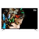 ショッピング液晶テレビ オリオン 55V型4Kチューナー内蔵4K対応液晶テレビ XDシリーズ ブラック OL55XD100 [OL55XD100]