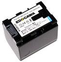 EDOGAWA JVC ビクター BN-VG121互換バッテリーGV-LS2 GZ-E565 GZ-EX370 GZ-G5 GZ-HM670 GZ-MG980 GZ-MS230対応 残量表示可能 (ED-BAT)