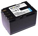 EDOGAWA JVC ビクター BN-V416対応互換バッテリー GR-DV3500 GR-D33 GR-D72 GR-D230 残量表示対応 (ED-BAT)